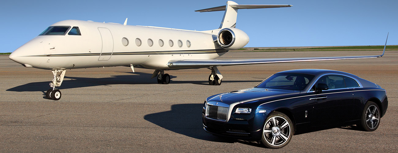 Private jet detailing